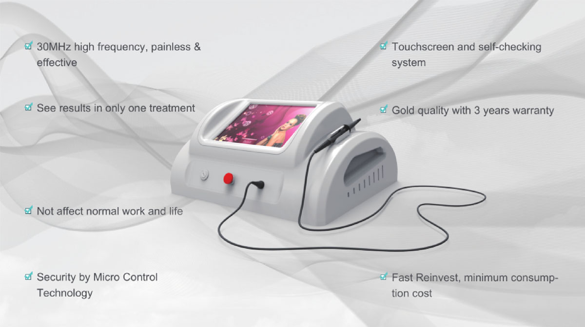 High Frequency Vein Removal Device advantage