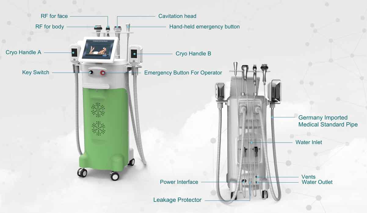 LB-C5 Cryolipolysis Slimming Machine Details
