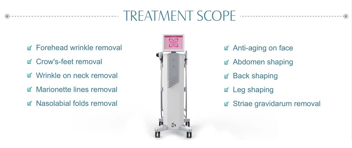 LB-TL4 Thermolift Skin Care Beauty Machine Treatment Scre