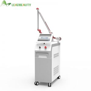 Q switch Nd Yag Laser Skin Care Machine white