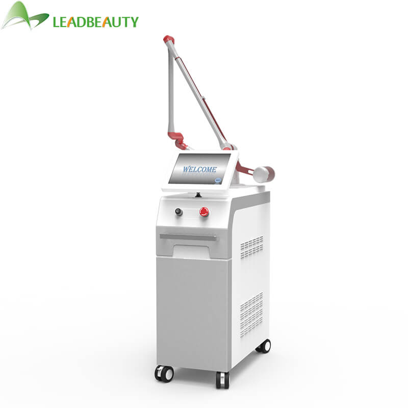 Q switch Nd Yag Laser Skin Care Machine white